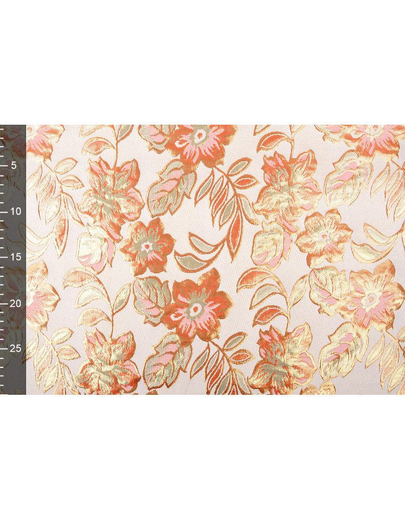 Brokaat Bloemen Izimbali Oranje