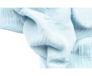 Blue skies Photo Prop fabric Gauze Cotton Cheese Cloth Felting Gauze Hand Dyed 2yds