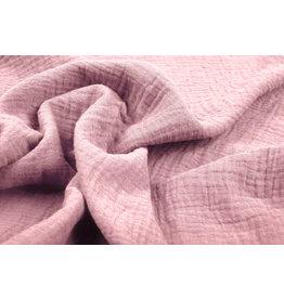Oeko-Tex®  Double Gauze Fabric Old Pink