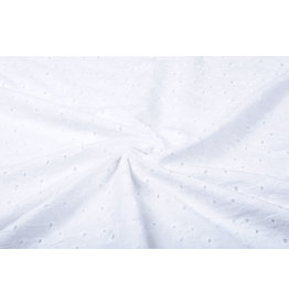 Embroidery Cotton Kara White