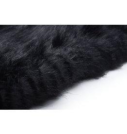 Imitation Fur Black