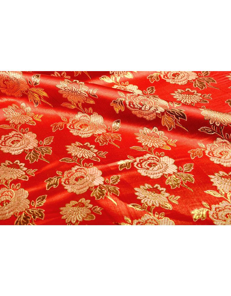 Brokat Rose Dide Rot