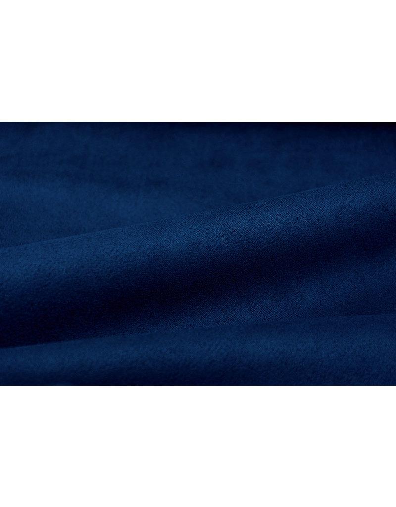 Oeko-Tex®  leichtes Tauchen Wildleder Königsblau