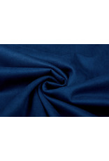 Oeko-Tex®  Light Scuba Suede Konings Blauw