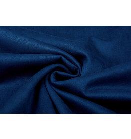 Oeko-Tex®  Light Scuba Suede Koningsblauw