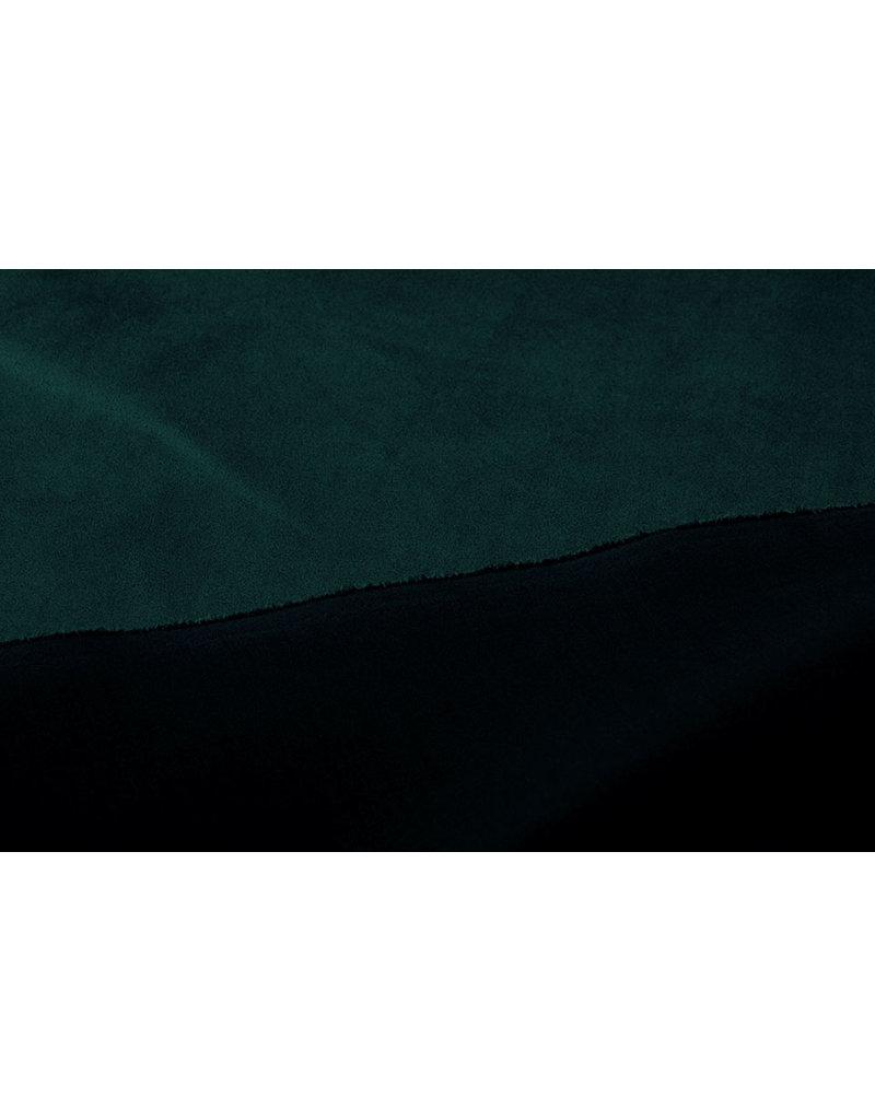 Oeko-Tex®  Light Scuba Suede Zee Groen