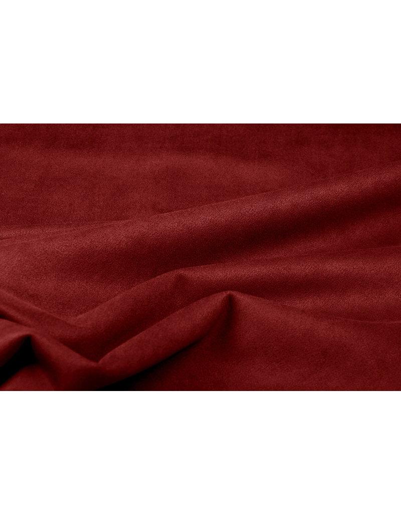 Oeko-Tex®  Leichtes Tauchen Wildleder Rot