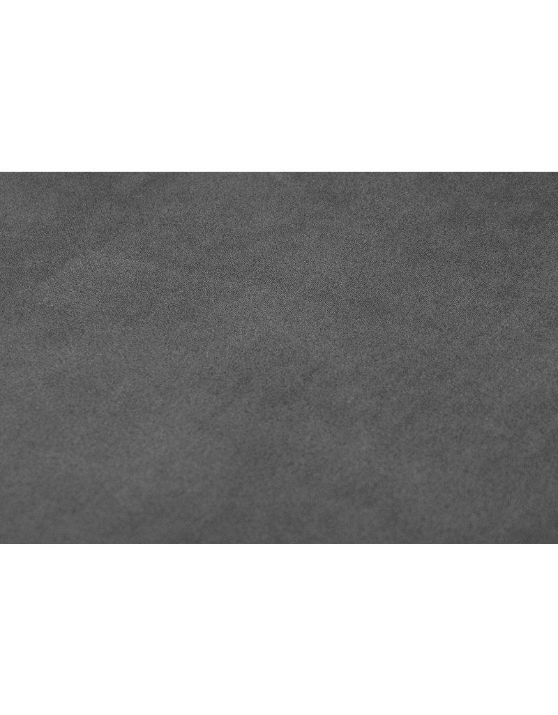 Oeko-Tex®  Leichtes Tauchen Wildleder Grau