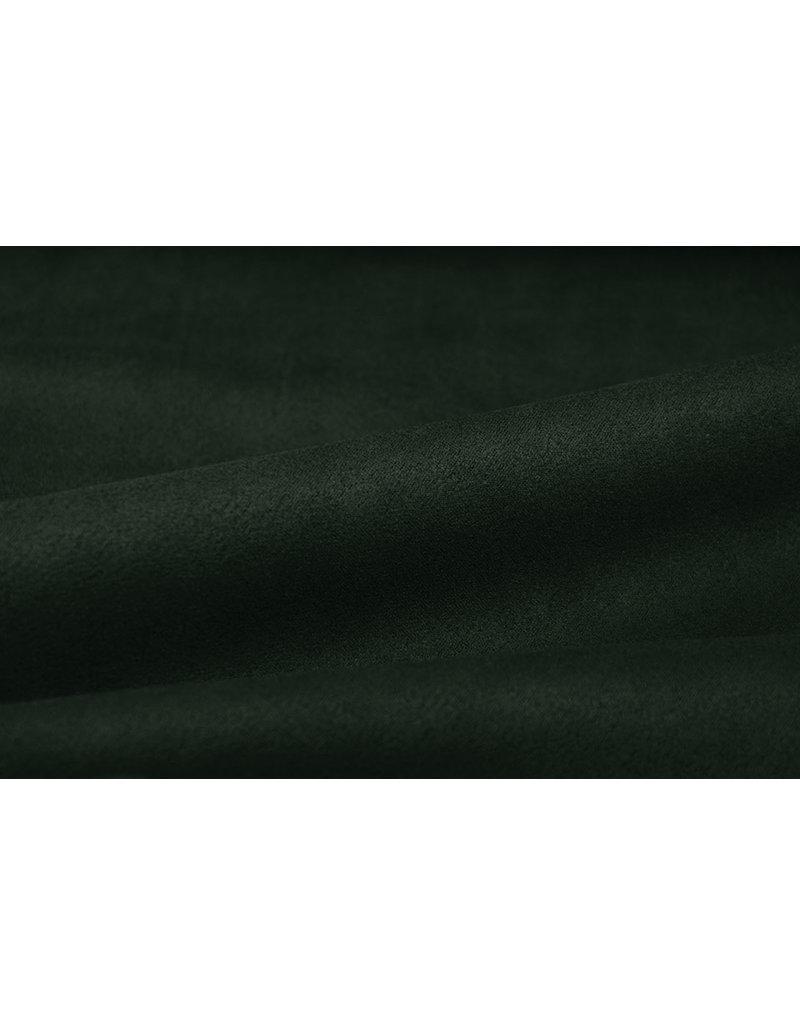 Oeko-Tex®  Leichtes Tauchen Wildleder Dunkles Armeegrün