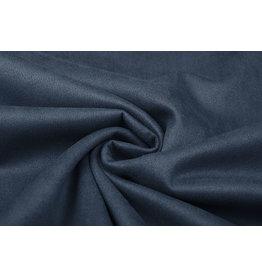 Oeko-Tex®  Light Scuba Suede Jeans Blue