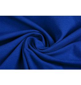 Oeko-Tex®  Cotton Jersey Kobaltblauw