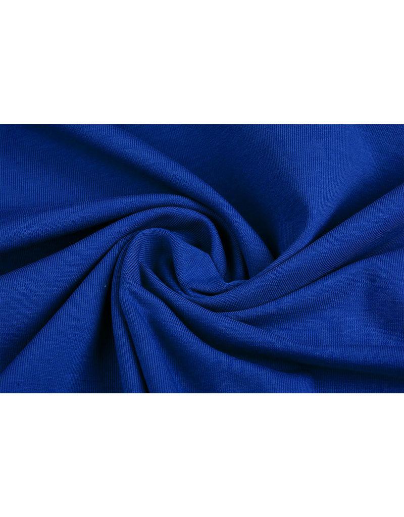 Oeko-Tex®  Cotton Jersey Kobalt blauw