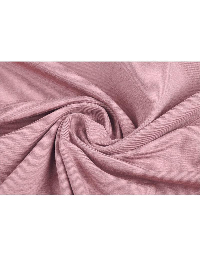 Oeko-Tex®  Cotton Jersey Poeder roze