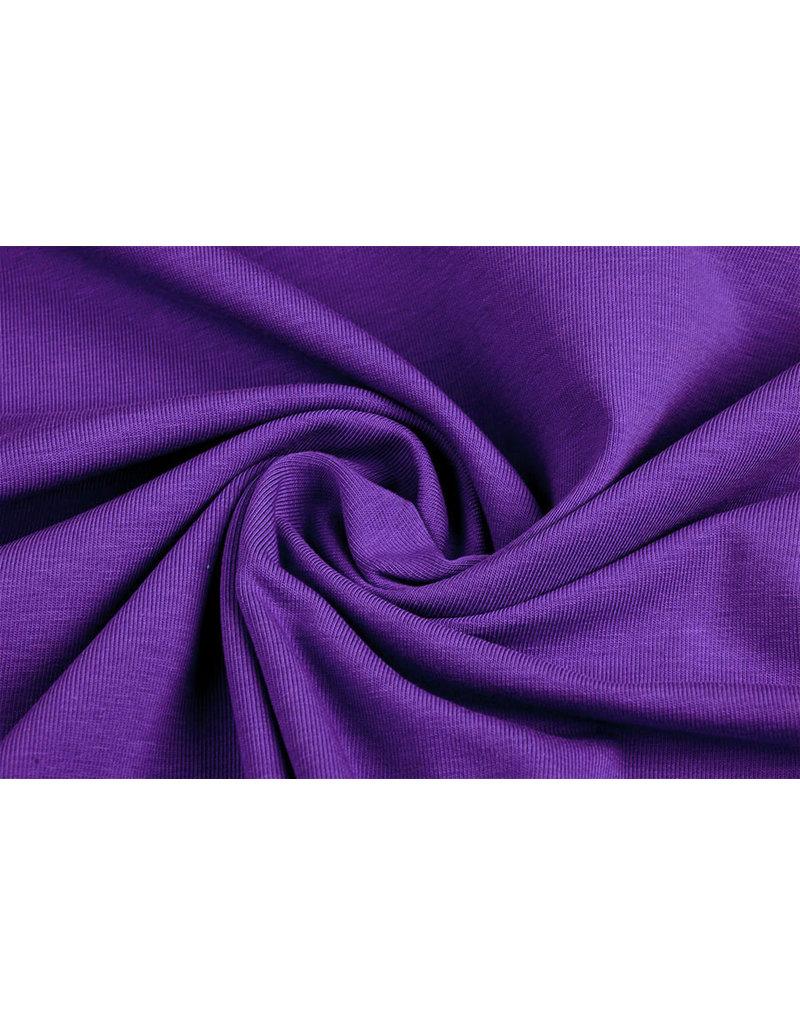 Oeko-Tex®  Cotton Jersey Paars