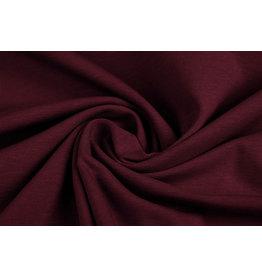Oeko-Tex®  Cotton Jersey Dark red