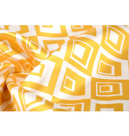 Polyester-Satin Viwanja Gelb