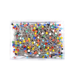 Glass head pins 500 Pieces