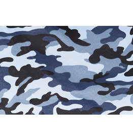 Army Polyester Cotton Navy