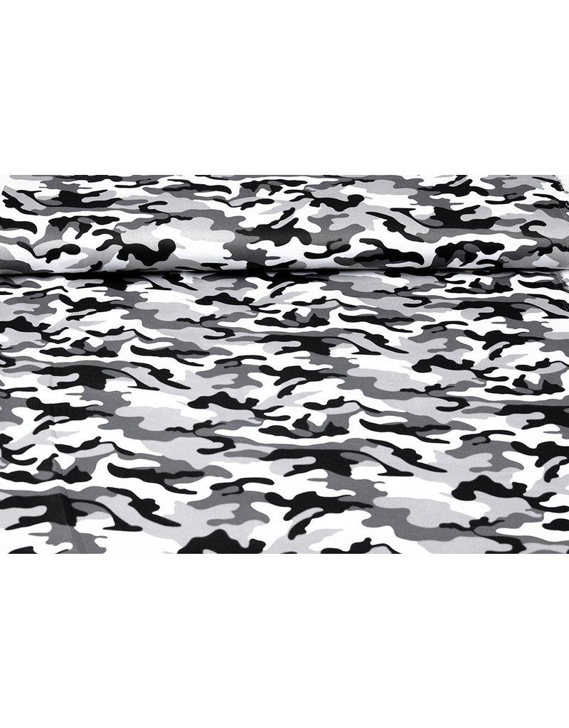 Armee Polyester Baumwolle Grau