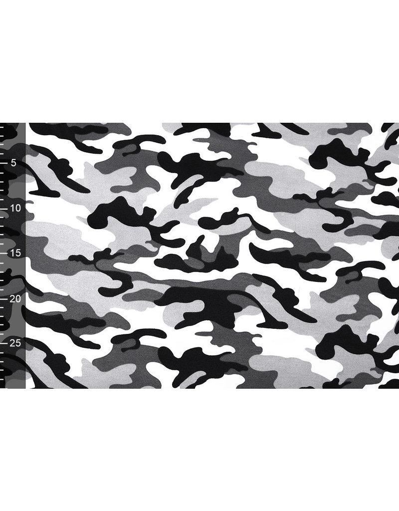 Army Polyester Katoen Grijs