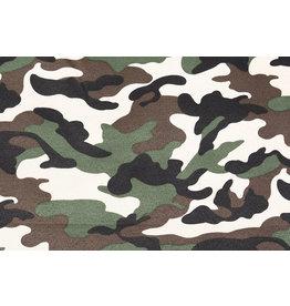 Armee Polyester Baumwolle Dunkelbraun-Grün