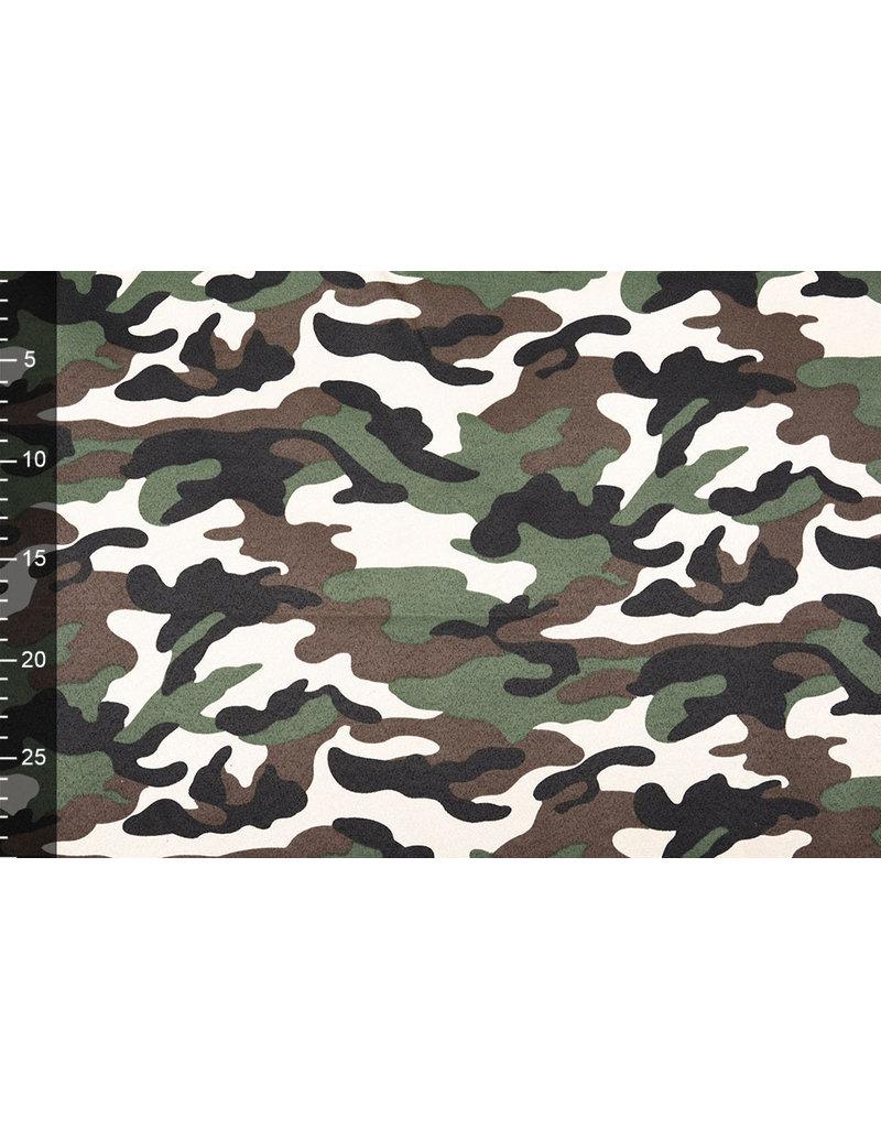 Armee Polyester Baumwolle Dunkelbraun Grün