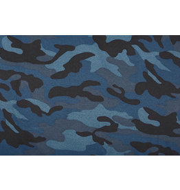 Army Polyester Cotton Police blue