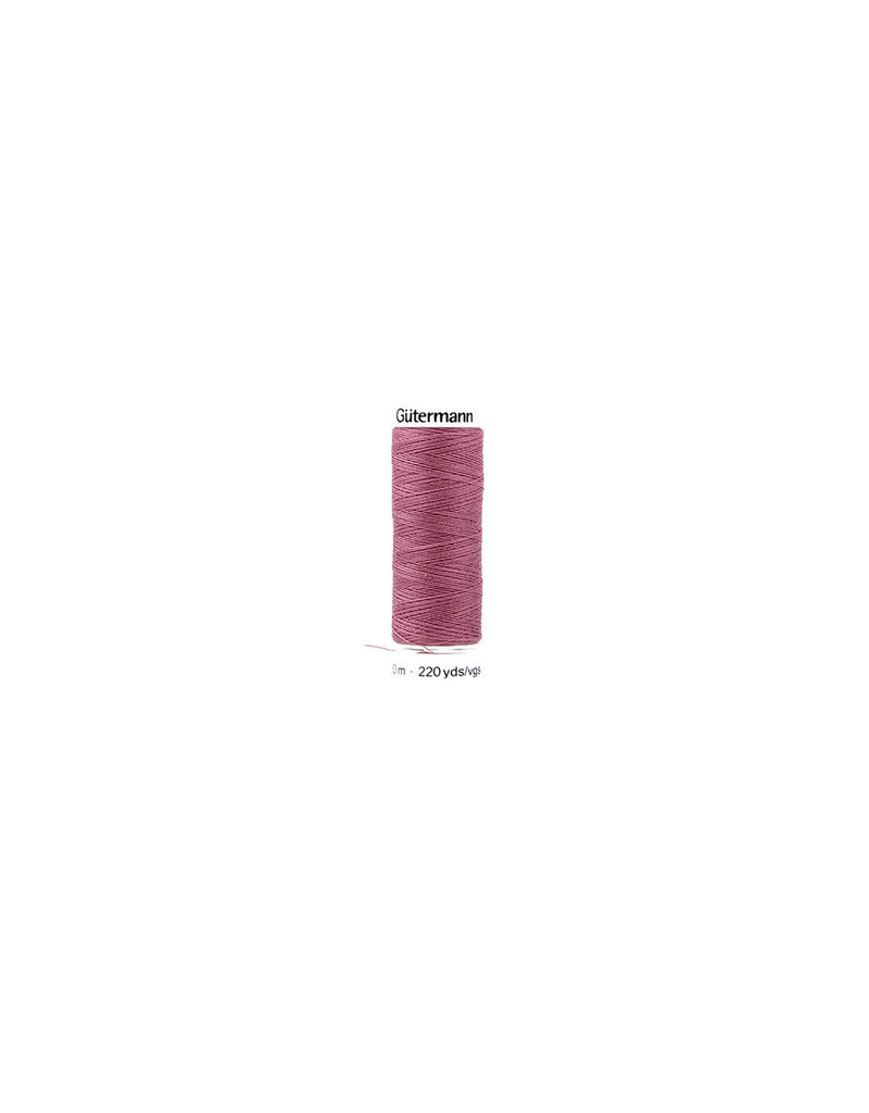 Gütermann Yarn Polyester Dark Old Pink 200 meter