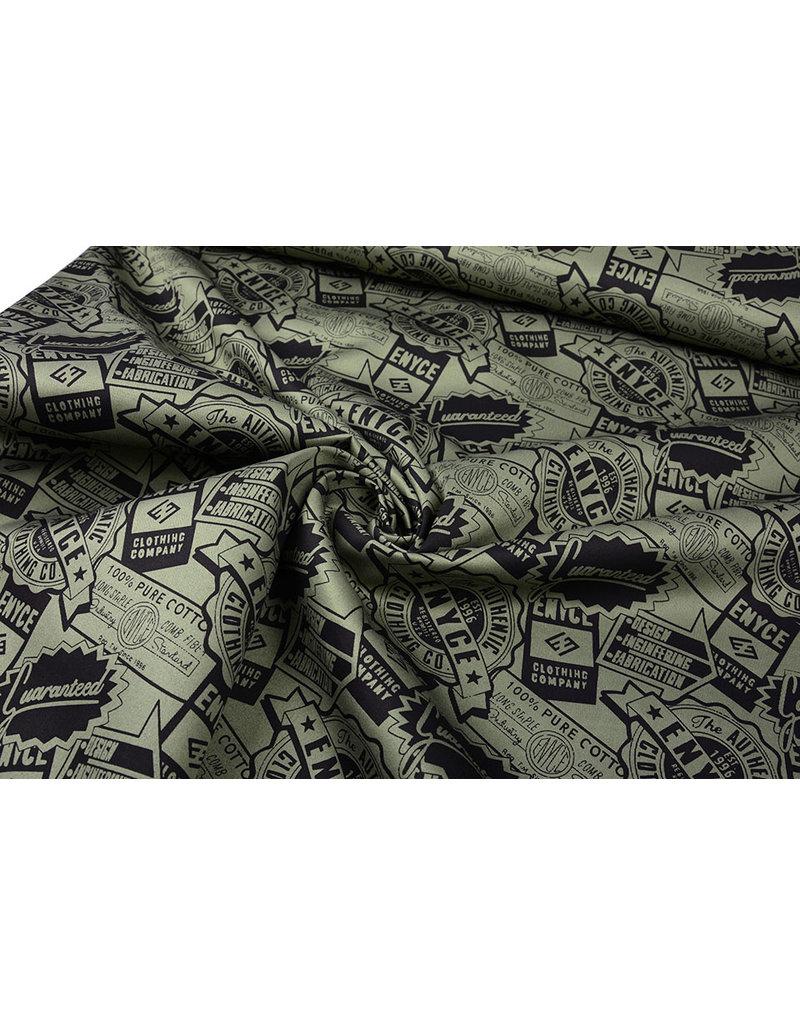 Army Polyester Baumwolle Enyce Armeegrün