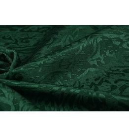 Jacquard Viskose Grün