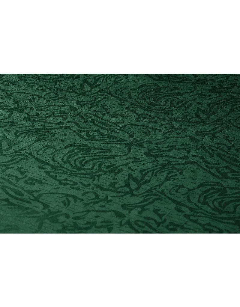 Jacquard Viscose Groen