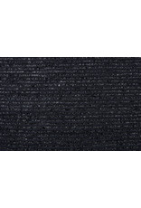 Bouclé feine Pailletten Streifen Marineblau