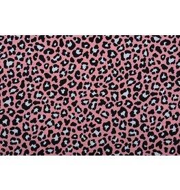 100% Cotton Panther print Pink