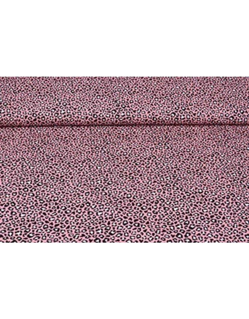 Stenzo 100% Baumwolle Pantherdruck Rosa