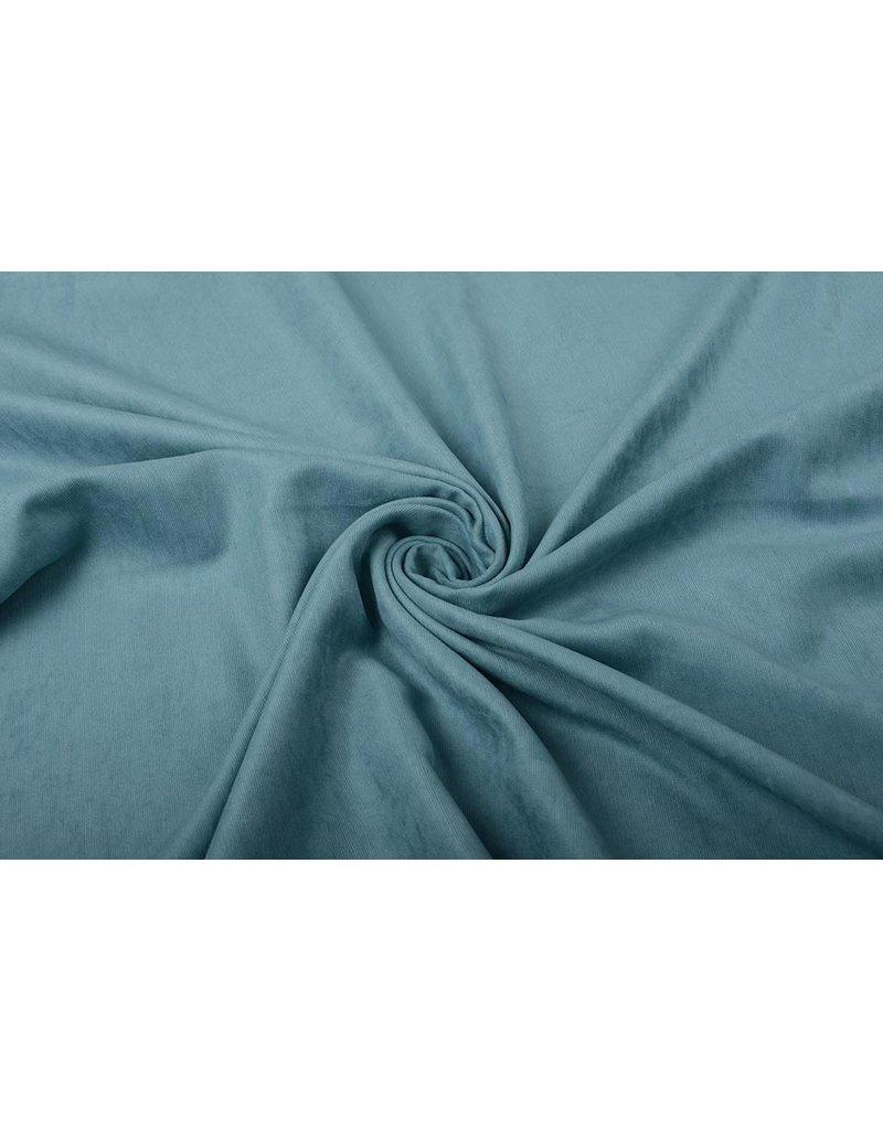 Cupro Suedine Jeans Blue
