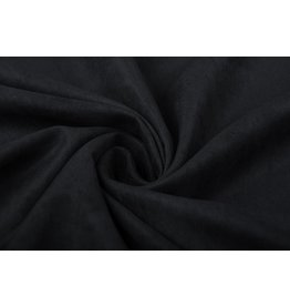Cupro Suedine Black