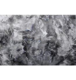 Tie-Dye Pelz Grau