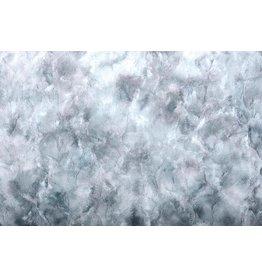 Tie-Dye Fur Grey Blue