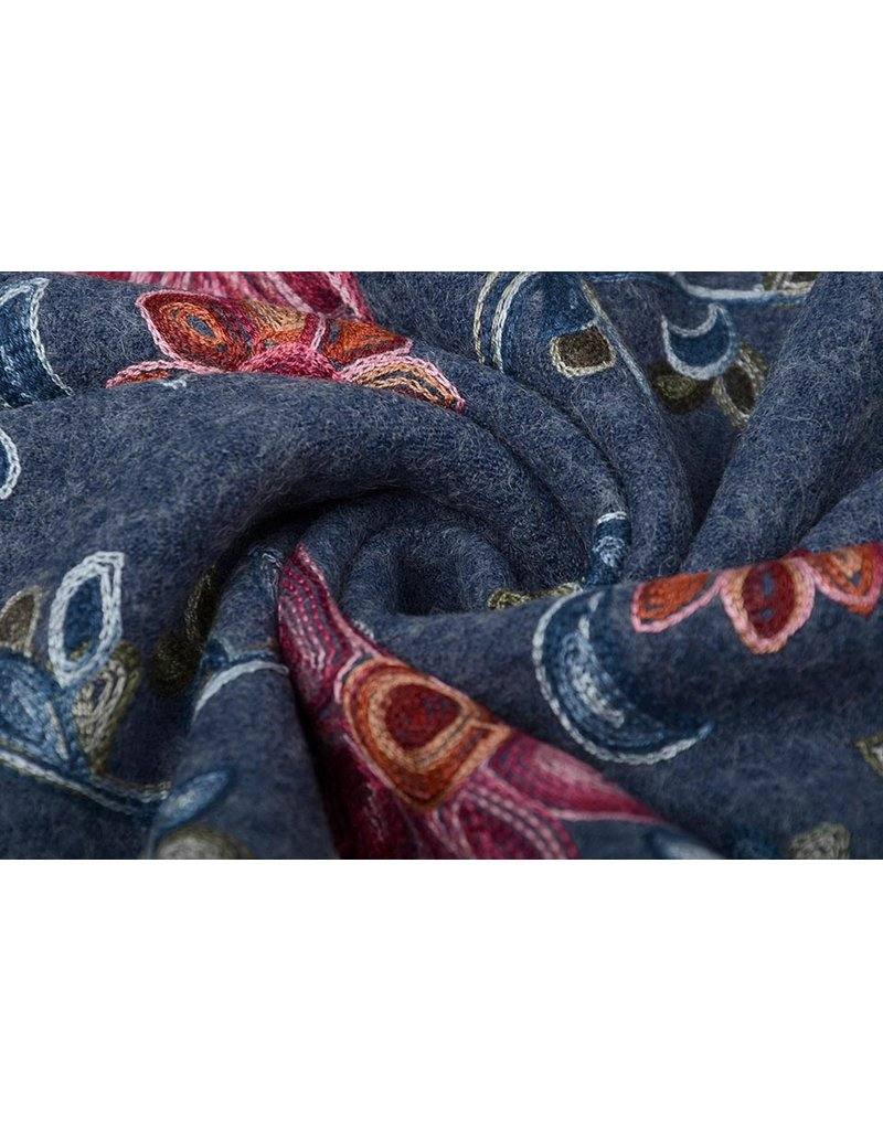Blumengirlande Jeans