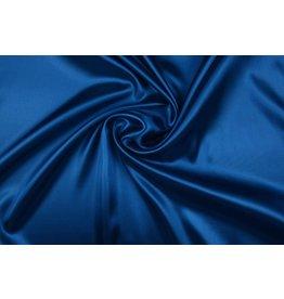 Polyester-Satin Königsblau