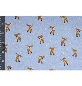 Jogging Alpenfleece Deer Jeans Melange