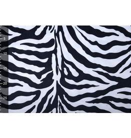 Veloursstoff Samt Zebra