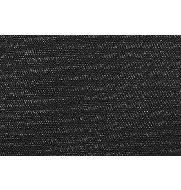 Jersey Lurex Black Glitter