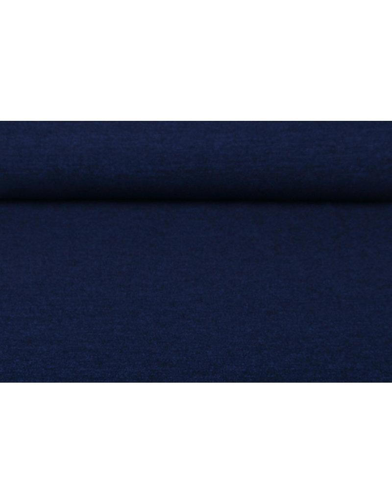 Jersey Lurex Donker Blauw Glitter