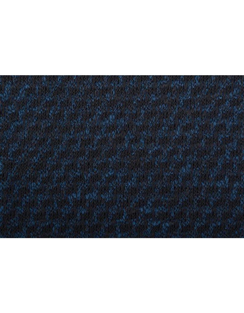 Jersey Sahara Zwart/Blauw