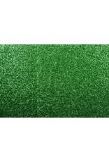 Gestricktes Glitzer Metallic Gras-Grün
