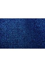 Gestricktes Glitzer Metallic Kobaltblau