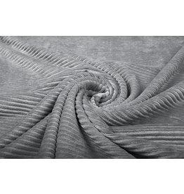 Cotton Corduroy Large Rib Grey Taupe