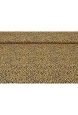 Stenzo 100% Baumwolle Pantherdruck Ocker Gelb