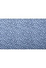 Stenzo 100% Katoen Bedrukt Blauw Wit